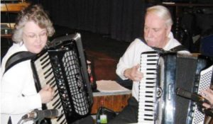 Amaryllis Accordion Duo Appearing at Guildford Accordion Club